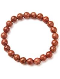 BLAUFLUSS Blaufluß Armband ca 19 cm Kugelarmband  Stretcharmband 4 mm Perlen