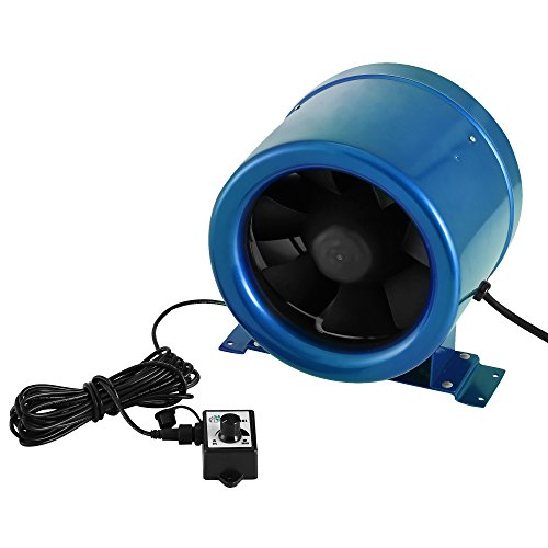 OldFe 3000RPM Professionale Ventilatore Di Costruzione 150mm 6Inch Ventilatore Da Pavimento Ventilatore Industriale A Tamburo