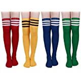 YouGa Calcetines Altos Muslo - Calcetines Largos Para Mujeres, Calcetines Hasta la Rodilla Sobre la Rodilla Muslo Calcetines