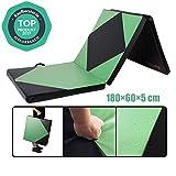 CCLIFE 180x60x5 Klappbare Weichbodenmatte Turnmatte Fitnessmatte Gymnastikmatte rutschfeste Sportmatte Spielmatte