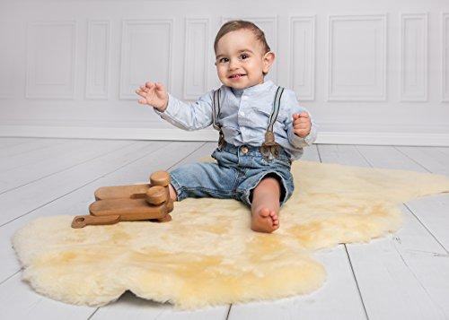 Baby Lammfell medizinisch ökologisch gegerbt 110-120