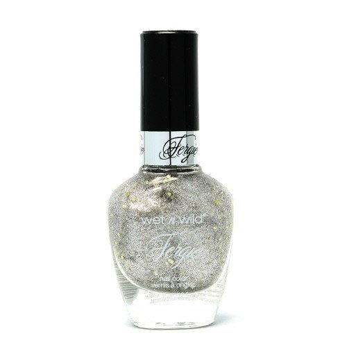 (6 Pack) WET N WILD Fergie Heavy Metal Nail Polish - Titanium Crush