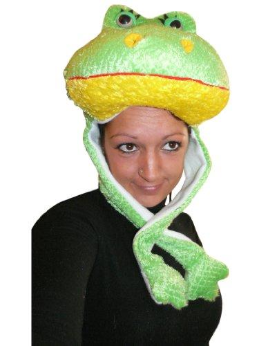 Ikumaal Frosch- Kostüm-e F72 Mütze-n Dame-n Herr-en Geschenk-e Karneval-s Fasching-s
