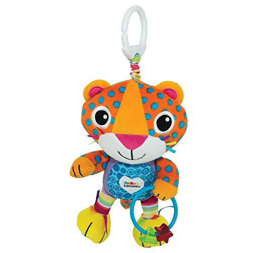 Lamaze Baby Spielzeug Lionel, der Leopard Clip & Go   Hochwertiges Kleinkindspielzeug   Greifling stärkt Eltern-Kind-Bindung   Ab 0 Monate