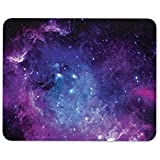 Purple Solar System Mouse Mat Pad - Nebula Galaxy Space Gift PC Computer #8364