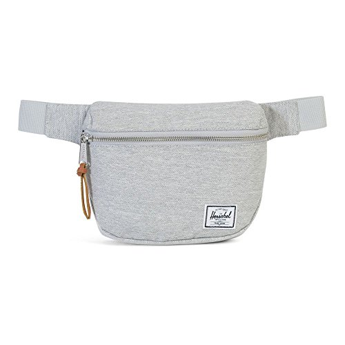 Herschel Fifteen Hip Pack light grey crosshatch - Gürteltasche