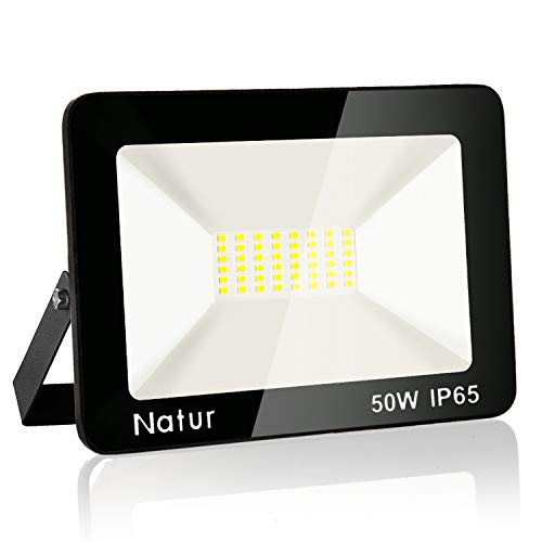 50W LED Foco exterior,Proyector Foco LED 6000K Blanco Frío Impermeable IP65 Luces...