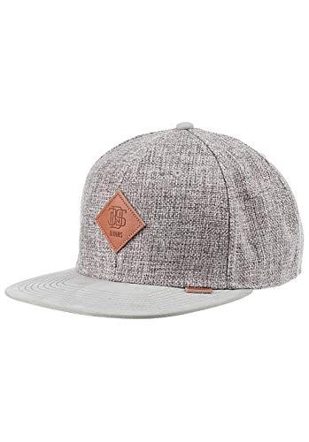 Djinns Herren Snapback Caps 6p Suelin grau Verstellbar