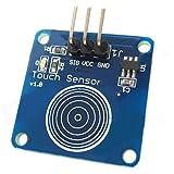 Ulian Arduimo accessonries moduli/Sensori per Arduino Touch Sensor Capacitive Touch Switch Module per Arduino–blue