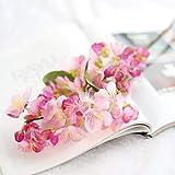 Mazzo di Sakura Rare Giapponese Cherry Blossoms casa Rare Bonsai Sakura Artificiale Giapponese Fiore di ciliegio Falso Rare Bonsai Cherry