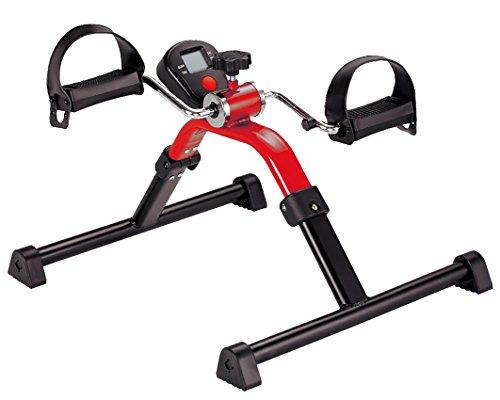 Pflegehome24® Bewegungstrainer DIGITAL für Arme & Beine, Arm- und Beintrainer, rot