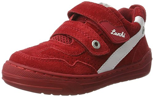 Lurchi Jungen Bruce Low-Top Rot (Dk.Red)