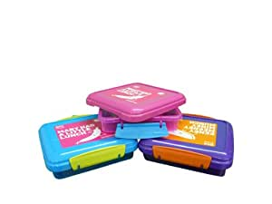 Sistema Boîte en plastique pour enfant Bleu Petite boîte-repas avec boîte à Sandwich