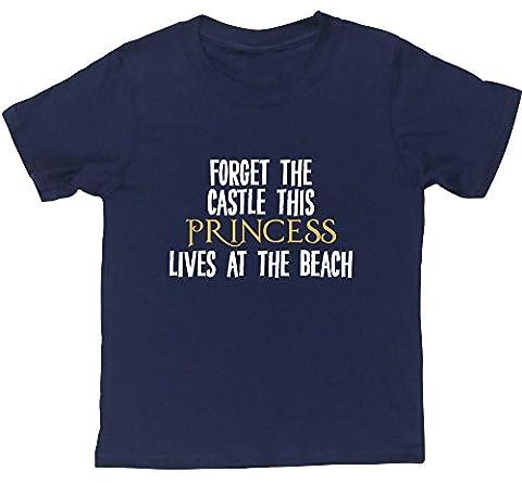 HippoWarehouse - T-shirt - Fille 6 ans - bleu -