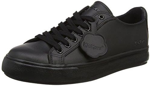 Kickers Tovni Lacer, Baskets Unisexes - Noir Adulte (noir)