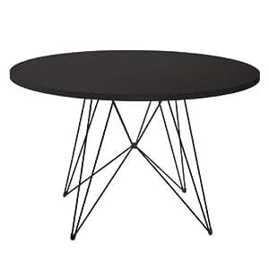 Magis tavolo xz3 nero nero 120 cm casa e cucina for Tavolo cucina nero