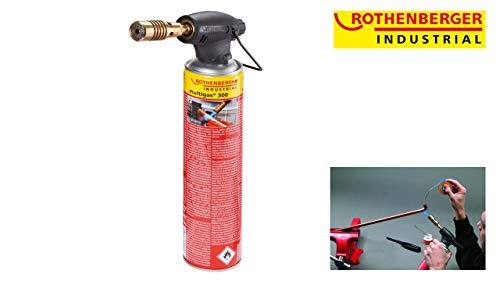 ROTHENBERGER Industrial Hochleistungs-Lötgerät RoFire 1800, inkl. Gaskartusche und Stützbügel - 35501