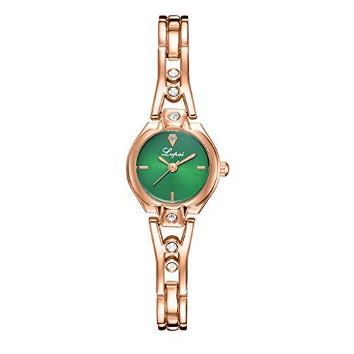 12 Uhr Watch Zeit Uhr Uhr Damenmode Schnalle Uhr Schnalle Mit Armband Digitaluhr Armband Edelstein Tisch Tag Zeitplanung Uhr Quartz Uhr Band Quarz-Armbanduhr GüNstig Billige Uhr