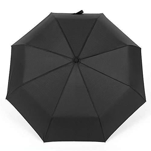 LYJZH Regenschirm Taschenschirm, kompakter tragbarer,geeignet für Männer und Frauen Vollautomatischer Taschenschirm 3-Fach color4 96cm