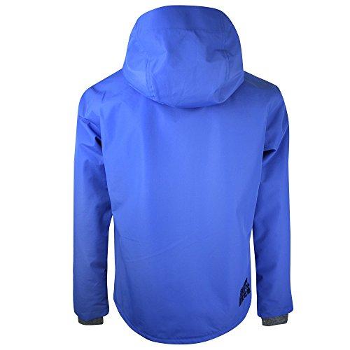 Superdry Herren Sweatjacke Hooded Elite Windcheater Electric Blue