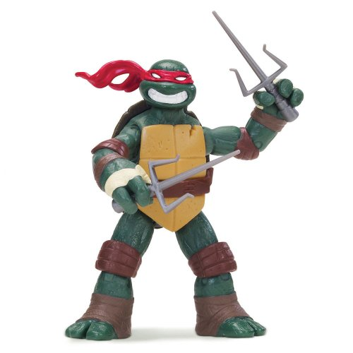 Teenage Mutant Ninja Turtles 14090504 - Raphael Basis Figur (Ninja Turtles Mutanten)