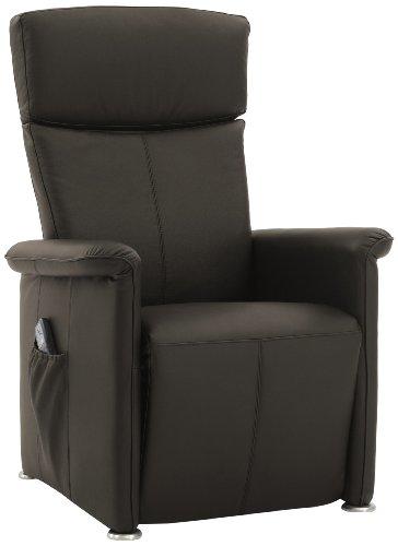 Preisvergleich Produktbild Sino-Living SE-908 Shiatsu-Massagesessel,  manuelle Verstellung von Rücken- und Fußteil,  echtleder braun