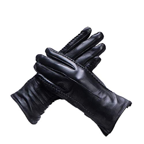 41yUSLgDEqL. SS500  - Gloves Cycling Ski Running Windproof Outdoor Winter Pure Leather Warm Driving Gloves ZHAOYONGLI