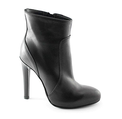 DIVINE MADNESS 420440 schwarze Stiefel Buchse Frau Ferse Reißverschluss Nero