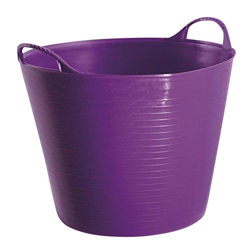 Tub Trugs Tub Trug Flexible Tub 14L purple