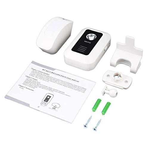 Tree-on-Life Securi M7 Split Wireless Begrüßungsgerät Willkommen Türklingel-Alarm mit intelligenten Bewegungssensor-Vorhängen Infrarot-Bewegungsmelder - Home-securi