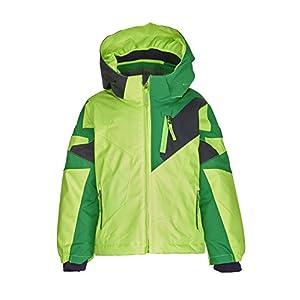 Killtec Jungen Cully Mini Skijacke / Funktionsjacke mit Kapuze und Schneefang, GROW UP Funktion – Kindermode die mitwächst