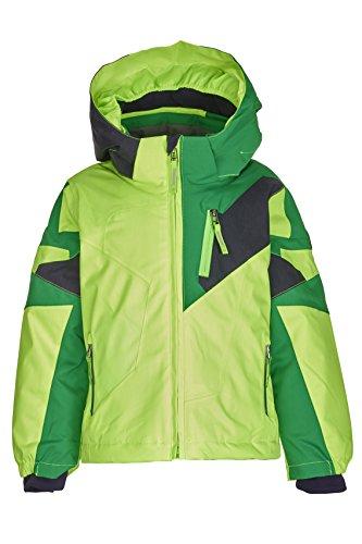 Killtec Jungen Cully Mini Ski Funktionsjacke, neon Lime, 122/128