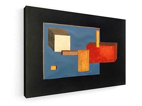 Laszlo Moholy-Nagy - Bühnenelemente - 90x60 cm - Leinwandbild auf Keilrahmen - Wand-Bild - Kunst, Gemälde, Foto, Bild auf Leinwand - Alte Meister/Museum