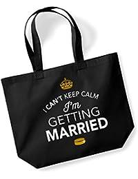 Bride, Bride Bag, Tote Bag, Bride Keepsake, Wedding Gift, Present, Hen Party, Hen Party Bag, Hen Do Gifts, Ideas For Bride, Keepsake (Black)
