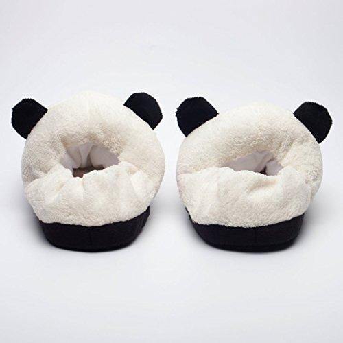acquisto genuino sentirsi a proprio agio qualità e quantità assicurate Katara 1784 Pantofole Panda Peluche Morbidissime Ciabatte da casa Animali  Antiscivolo Donna Uomo Taglia unica 36-44