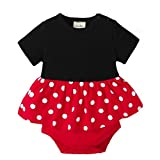 Mounter vêtements Bébé, Bébé Manchon Courte T-shirt [ Point d'onde ] Disney Barboteuse (18 Mois)
