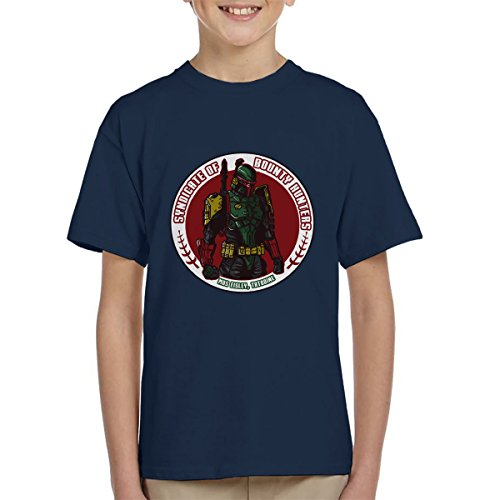 Syndicate Insignia Boba Fett Bounty Hunters Star Wars Kid's T-Shirt (Boba Fett Insignia)