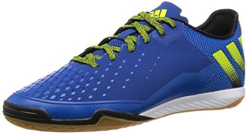 adidas Ace 16.2 Court, Chaussures de Foot Homme Bleu / noir / vert (bleu équipement / noir essentiel / boue semi solaire)