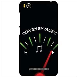 Xiaomi Mi4i MZB4300IN Back Cover - Drivem By Music Designer Cases