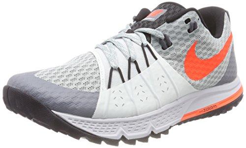Nike Gore Tex (Nike Damen WMNS AIR Zoom Wildhorse 4 Laufschuhe, Grau (Pierre Ponce Claire/Gris Pâle/Noir/Cramoisi Total 004), 39 EU)