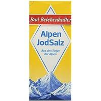 Bad Reichenhaller Marken JodSalz Reines Alpensalz aus Natursole, 500 g