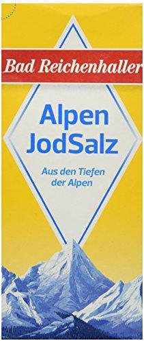 rken JodSalz Reines Alpensalz aus Natursole, 500 g ()
