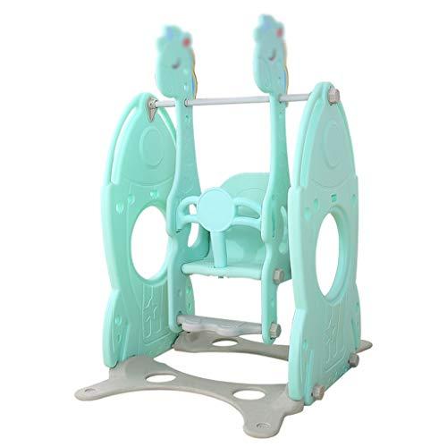 QQET-L Columpio de decoración, Silla de Columpio para bebés de plástico para niños Regalo para Columpios Zona de Juegos Columpio Silla Colgante, 78 * 155 CM (Tamaño : 78 * 155CM)