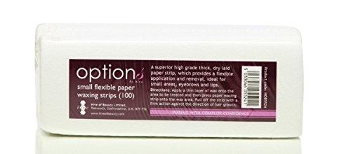 ruche-100pcs-papier-souple-professionnel-epilation-cire-bandes-jambe-corps-bikini-visage-petite-tail