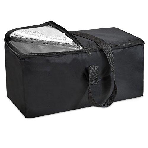 achilles Kühltasche, Kühleinsatz für Klappbox, Faltbare Kühltasche, schwarz, 40 cm x 20 cm x 20 cm