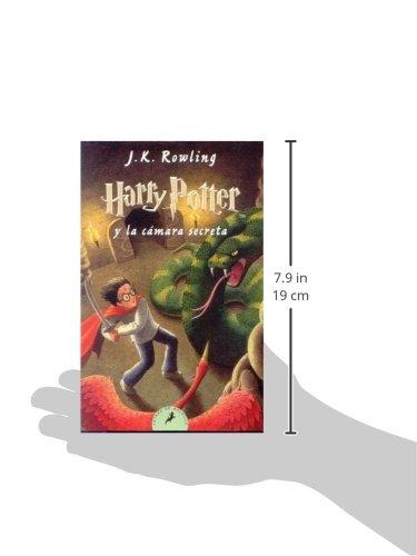 41yUb9bCX L - Harry Potter y la Cámara Secreta: 83 (Letras de Bolsillo)