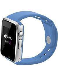 Leotec Smartwatch Sport X - Smartwatch,GPS real,Android,Sim 3G,Camara incorporada, monitor de actividad, Compatible Android y notificaciones inteligentes, color Azul