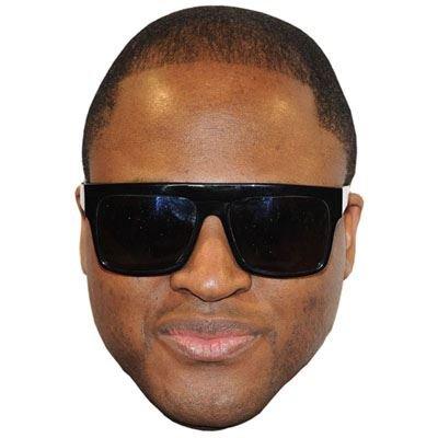 Celebrity Cutouts Taio Cruz Maske aus Karton