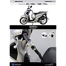 Artago 1644ART Candado Antirrobo Manillar Practic Art Alta Gama con Soporte para Honda Scoopy SH 125