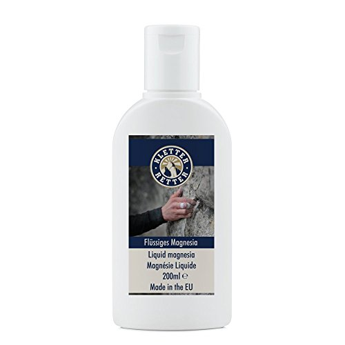 Preisvergleich Produktbild KletterRetter Flüssiges Magnesia 200ml - Liquid Chalk - Neue Formel: dicker und leichter anzuwenden